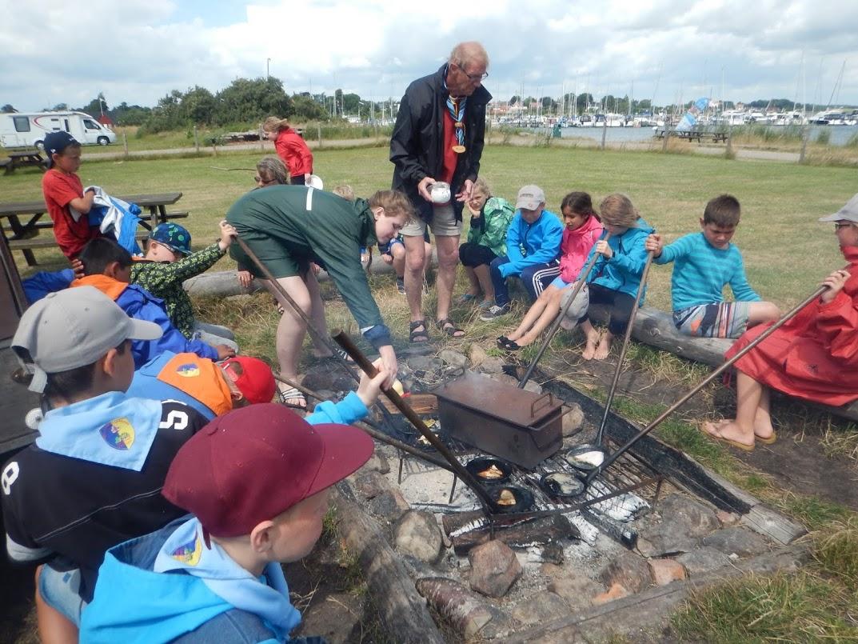 Igen i år 2015, afholdt vi lejr for børn fra 8 år til 11 år.